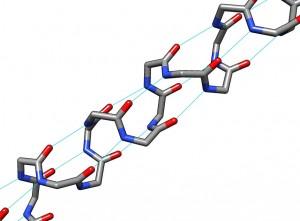 Keratin alpha helix